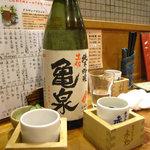 赤鬼 - 亀泉 純米吟醸(高知)