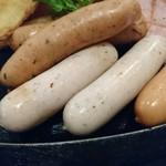 サイボク - ポテト、あらびきウインナー、ホワイトウインナー、ポークウインナー