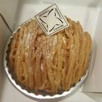 ロカンダ - 和栗のモンブラン 450円