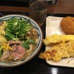丸亀製麺 - 鴨ネギうどん