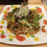 東京担々麺 RAINBOW - 温玉入り汁なし担々麺