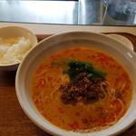 中国菜家 桃花片 - 料理写真:坦々麺のランチ