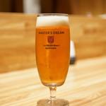 洋食 おがた - 生ビール