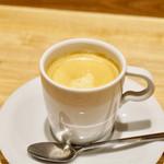 洋食 おがた - 食後のコーヒー
