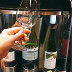 CAFE&STORE bebenoosouzai - ▲ワインサーバーは3量により値段べつ