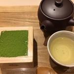 マッチャハウス マッチャカン - 抹茶ティラミスセット 850円