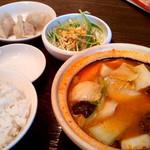 62890010 - 「火鍋 食べるスープセット」(1,080円)