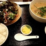 62890684 - 白ゴマ坦々麺ランチ