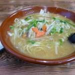 味の一番 - 味噌タンメン(750円)