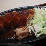 中堀亭  - 厚切り豚ステーキ