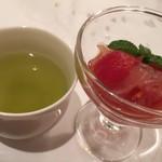 岩珠旨 - 5皿目:白キクラゲのトマト煮