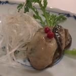 岩珠旨 - 1皿目:牡蠣のコンフィ
