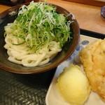 さぬき安べえ - たまり(190円)天ぷら玉子(100円)鶏天(130円)