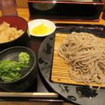 阪急そば若菜 - 十割蕎麦セット