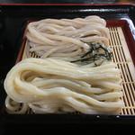 よいち - 2色ざるうどんヽ(*´∀`)550円