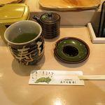 札幌シーフーズ - お茶です