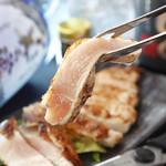 【其の3】大山鶏の香味刺身ステーキ