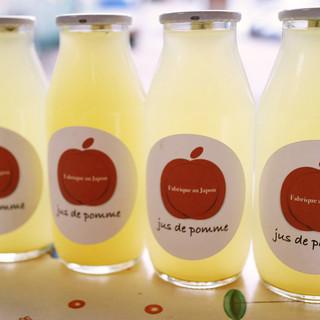 上質な果物をそのままジュースに