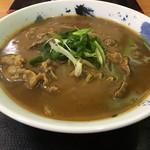味平 - 肉カレーうどん 普通サイズ