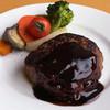 エービーシーカフェ - 料理写真:ハンバーグステーキ