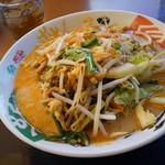 元気いちばん亭 - 料理写真:野菜担々麺