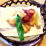 いちば寿司 - タコの唐揚げ