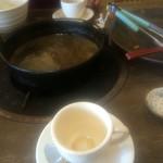 天山閣 - 食後のコーヒーまで付いていました。