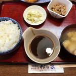 松の家 - ずっこけびっくりヒレカツ定食