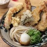 62908669 - 鶏天ぶっかけ天ぷらマシマシ