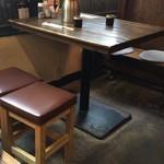 宮崎酒房 くわ - テーブル席