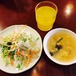 タイレストラン クンメー1 - スープもなかなかいけます!