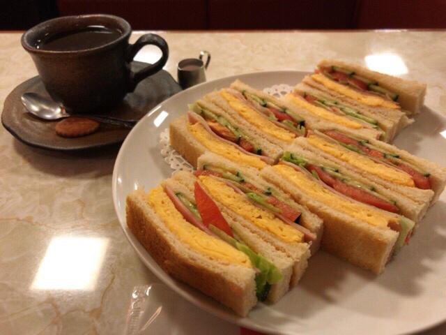 はまの屋パーラー - スペシャル・サンドゥイッチ