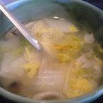 れんが屋 - にんにくスープ