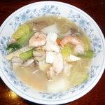 四川厨房ふう   - 海鮮担麺