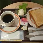 サンズカフェ - モーニングセット