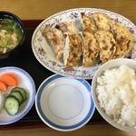 富士山餃子 - 富士山餃子8個入り定食