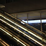 東京ビアホール&ビアテラス14 - エスカレーターから見えるけど行けない