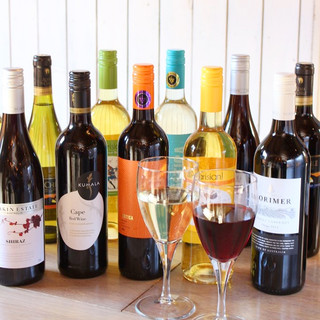 20種類のボトルワインがALL2000円!
