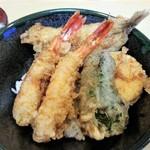 魚のてっちゃ - ミニ天丼