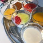 家全七福酒家 SEVENTH SON RESTAURANT - デザートは、選べます。