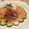 ビストロ トミーズハウス - 料理写真:サーモンのマリネ!とっても綺麗です