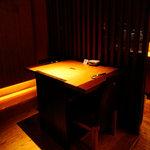 良庵 - テーブル一般席