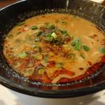 62920088 - 3種の坦々麺セット(白胡麻坦々麺)