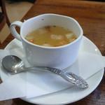 純喫茶モネ - ナポリタンのスープ