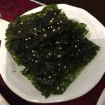 ホルモン・焼肉 キムチ - 韓国海苔