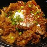 ウィッフィ - 牛スジ丼¥900
