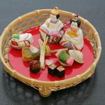 和の食彩 吉楽庵 - 3月雛まつり『前菜』