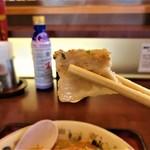 山田うどん食堂 - 豚バラ肉が結構入っています