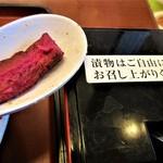 山田うどん食堂 - 漬物ショッパ