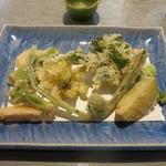 62923829 - 春野菜天(1030円)